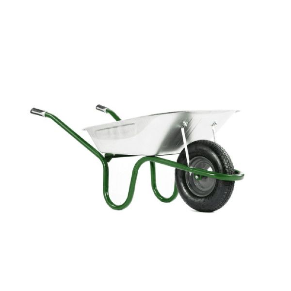 90 Litre Orginal Galvanised Wheelbarrow Haemmerlin 4041